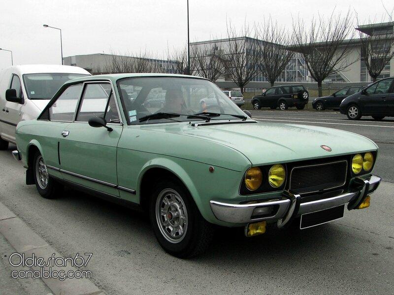 Fiat 124 sport 1800 coupe type cc 1973 1975 oldiesfan67 mon blog auto - 1975 fiat 124 sport coupe ...