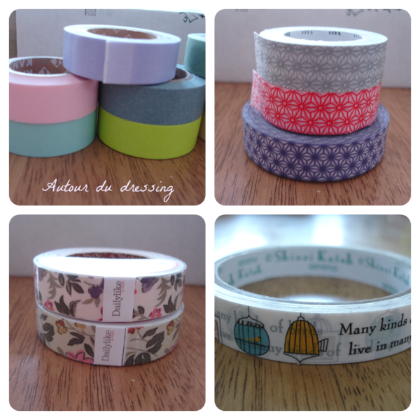 masking tape lot DIY