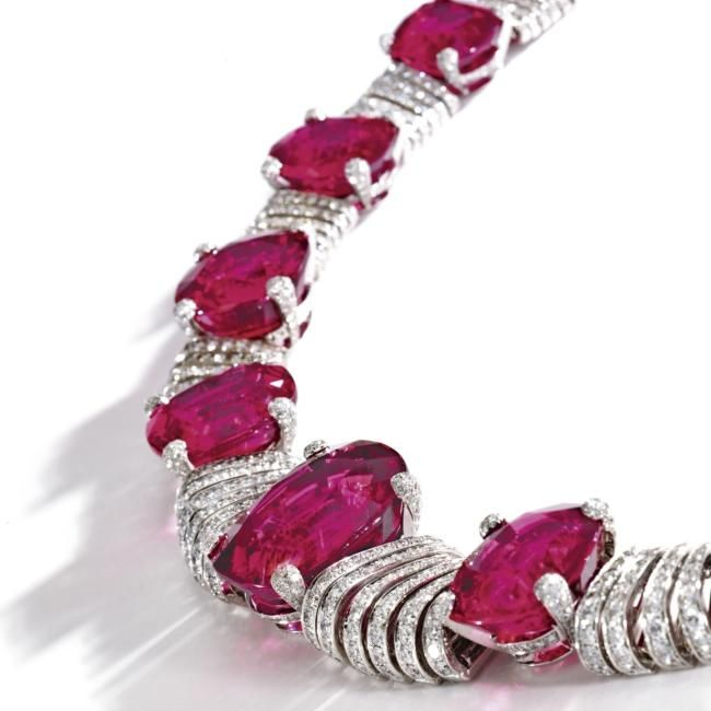 rubellite and jewelry sotheby s magnificent