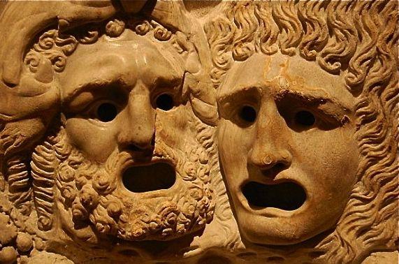 theatre grec masques tragédie