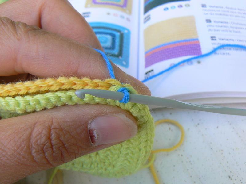 comment assembler un tricot au crochet