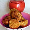 Croquettes de Riz Epices