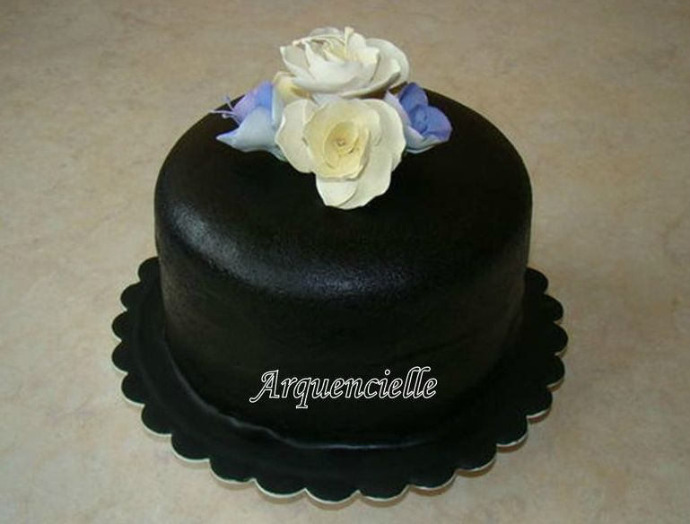 Super Gâteau chapeau fleuri, haut de forme fleurs. - Les créations d  VZ26