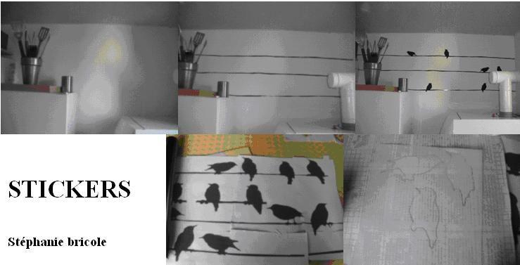 diy d co faire ses stickers soi m me mod le de stickers oiseaux st phanie bricole. Black Bedroom Furniture Sets. Home Design Ideas