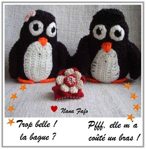 Pingouin au crochet 03