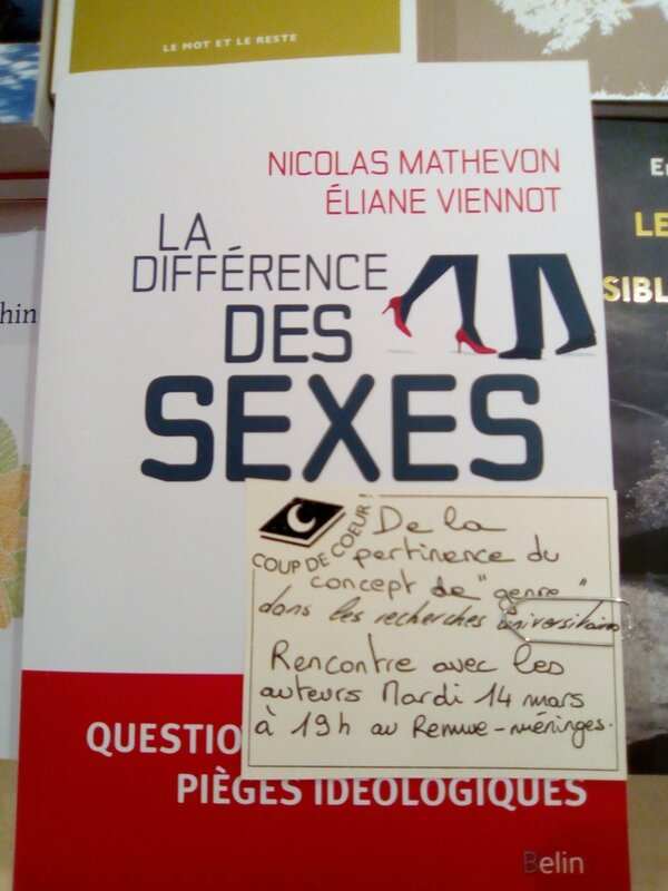 differeence sexes