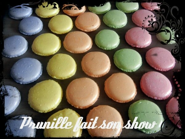 macarons pastel prunillefee