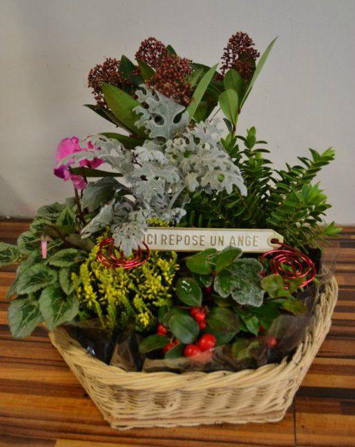mini jardin deuil composition florale au fil des fleurs 51 pargny sur saulx fleurs. Black Bedroom Furniture Sets. Home Design Ideas
