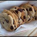 Cookies et purée d'amandes blanches...