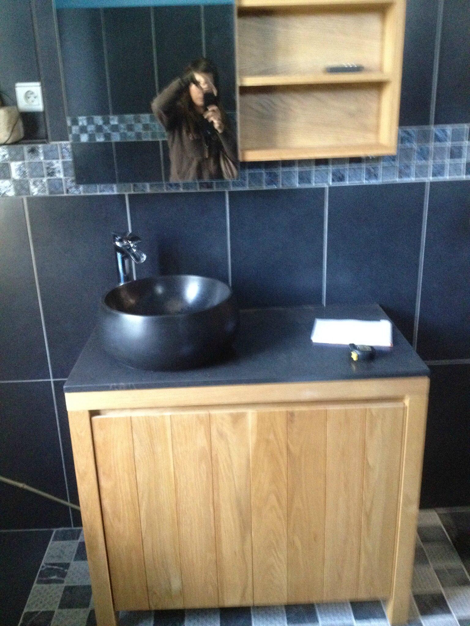 la salle de bains du rdc l 39 espace la clart et la douceur retrouv e la maison de lilly. Black Bedroom Furniture Sets. Home Design Ideas