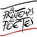Printemps des poetes 2014