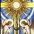 Fete du saint sacrement