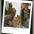 Table d'automne (préparation)