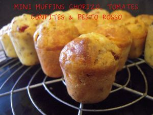 mini muffin chorizo