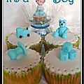 Dcoration cupcake : thme bb...