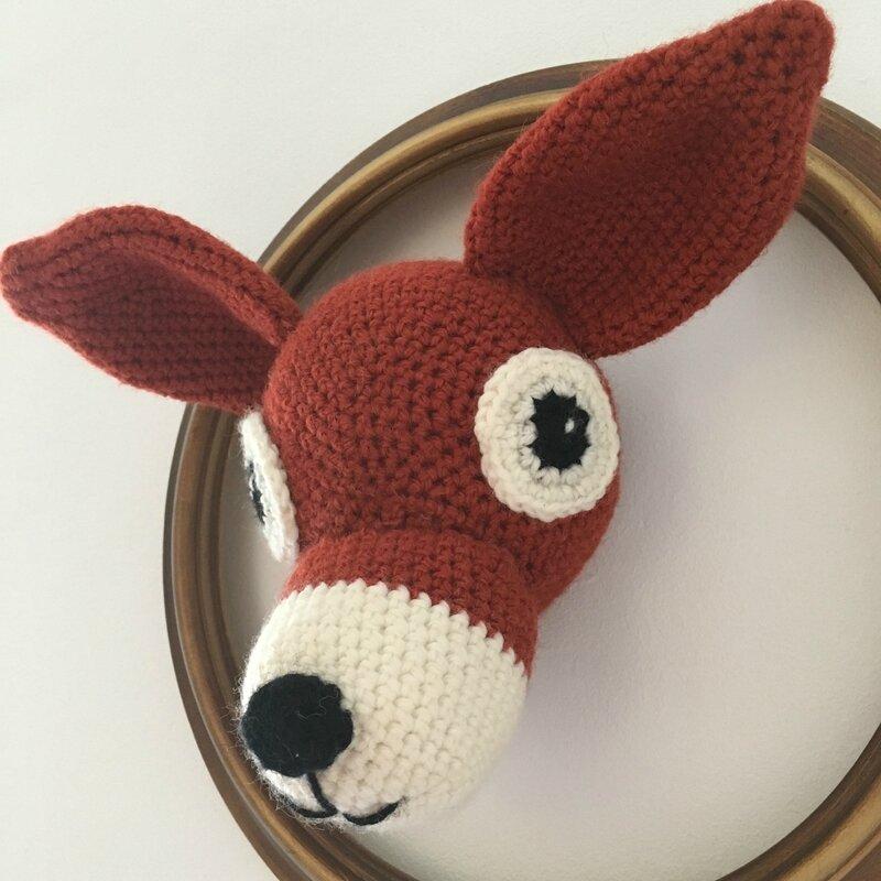 trophée Bambi crocheté