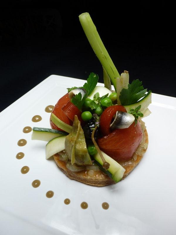 Tarte ni oise chez lorette la table de l - Offrir un cours de cuisine avec cyril lignac ...