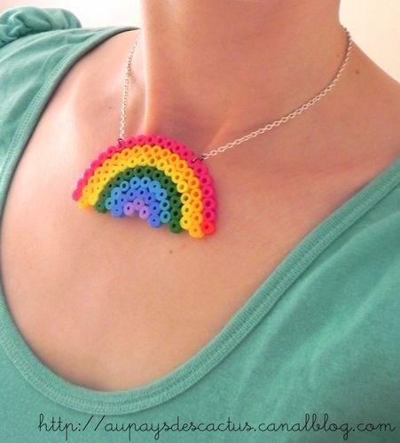 Collier rainbow 1