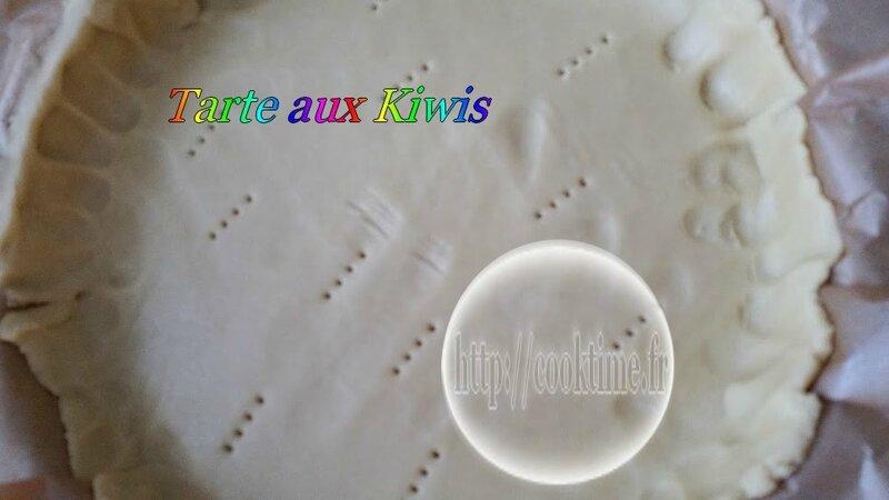 Tarte aux kiwis au Thermomix 3