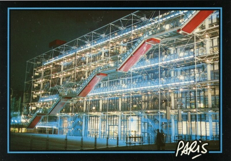 CPM Paris Centre Beaubourg