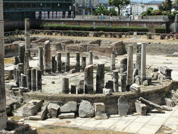 TEMPLE DE SERAPIS