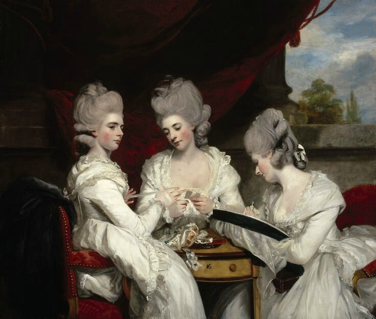 Joshua Reynolds, The Ladies Waldegrave, 1780