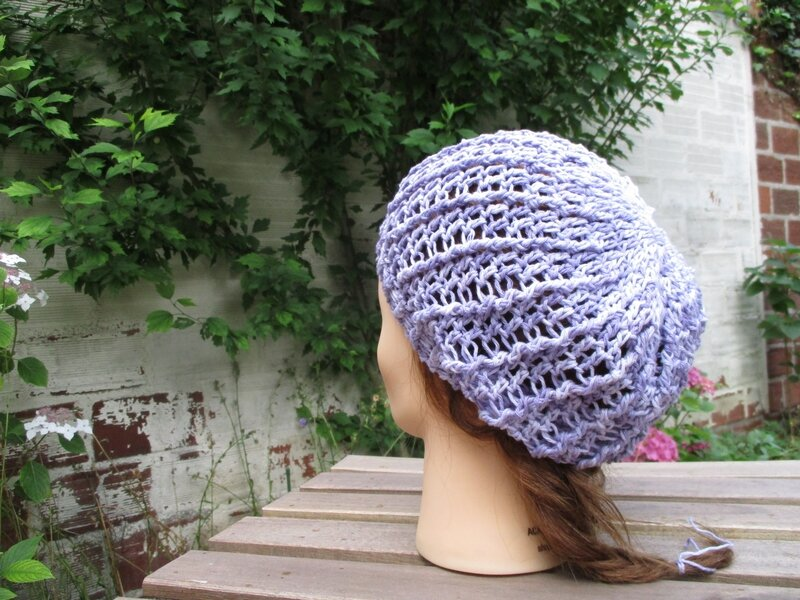 Bonnet simple en fil coton (10)