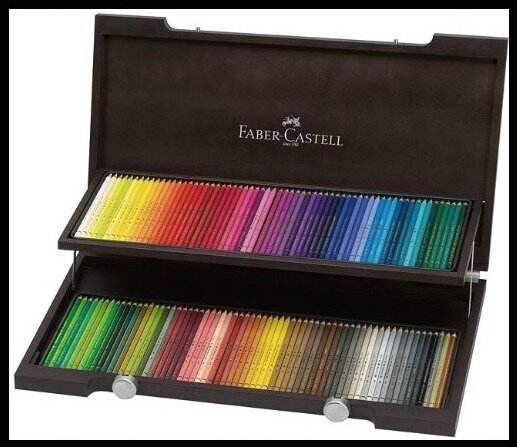 crayons de couleur professionnels faber castell. Black Bedroom Furniture Sets. Home Design Ideas