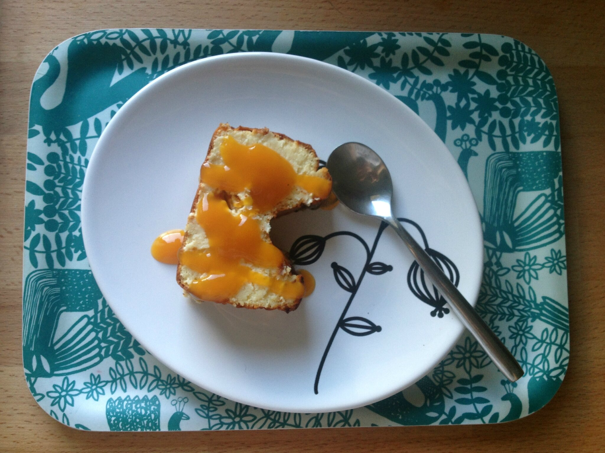 Cheesecake mangue-passion