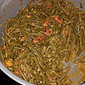 Haricots verts à la marocaine