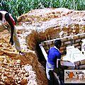 latrines CEG - fondations 4
