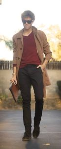 look homme le trench