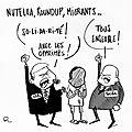 Migrants, nutella et round up