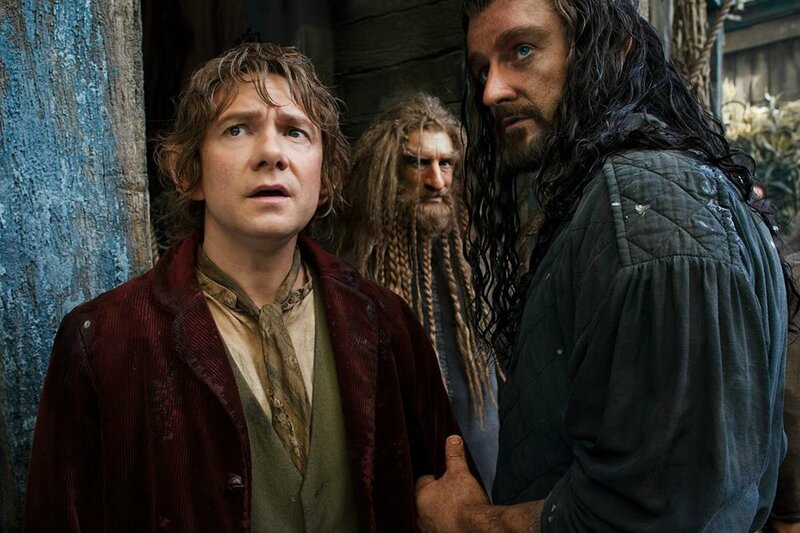 Bilbo and Thorin The Hobbit The Desolation of Smaug