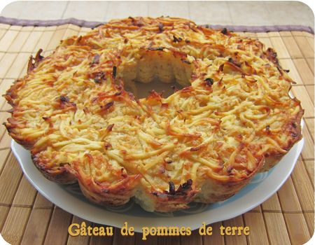 gateau aux pommes de terre marmiton home baking for you blog photo. Black Bedroom Furniture Sets. Home Design Ideas