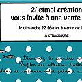 A/ les dates des expositions..