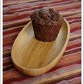 Les muffins au chocolat sans bl, sans lait de Mussy