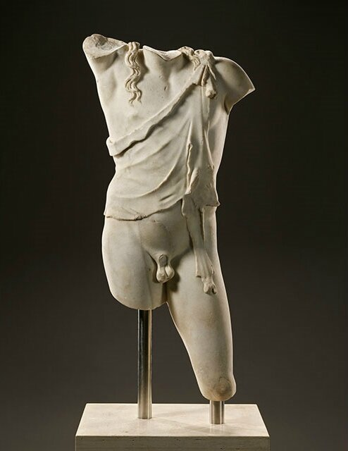 Getty Museum displays ancient Greek and Roman sculptures From The Santa Barbara Museum Of Art