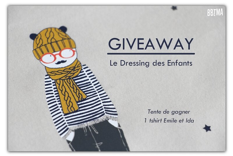 giveaway bbtma le dressing des enfants emile et ida tshirt boutique vêtements enfants kids blog parents mode maman 00