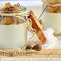 Fromage ou dessert? yaourt au camambert et sa compotée de pommes ♥