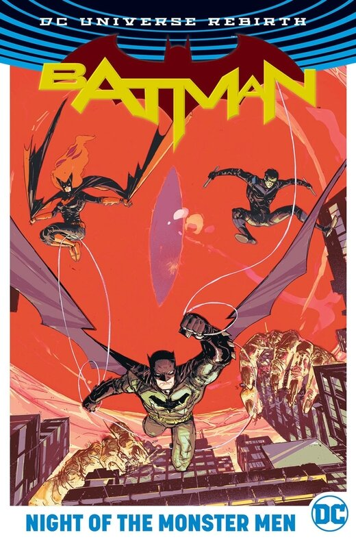 rebirth batman night of the monster men HC