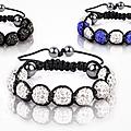 Bracelets shamballa est à la mode