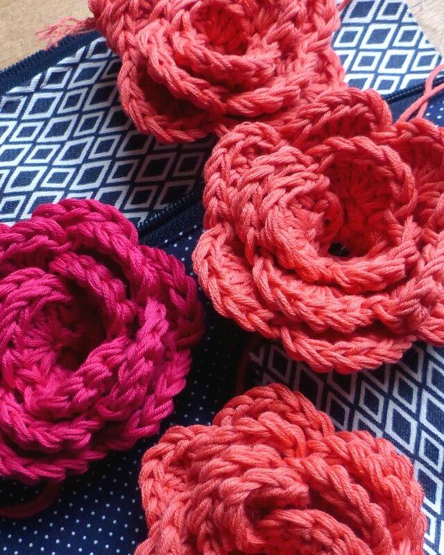 fleurs-crochet-bouquet-mariée
