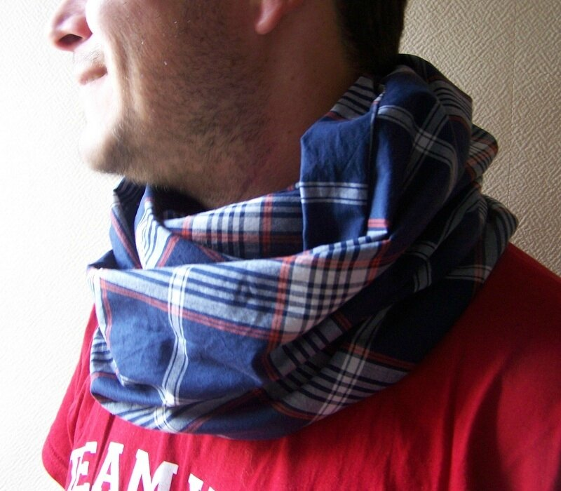 Snood carreaux (2)