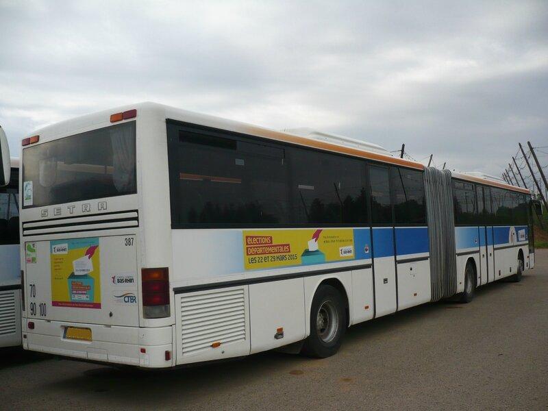SETRA SG321UL autobus articulé du Réseau 67 Wingersheim (2)