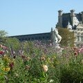 Le jardin des Tuileries