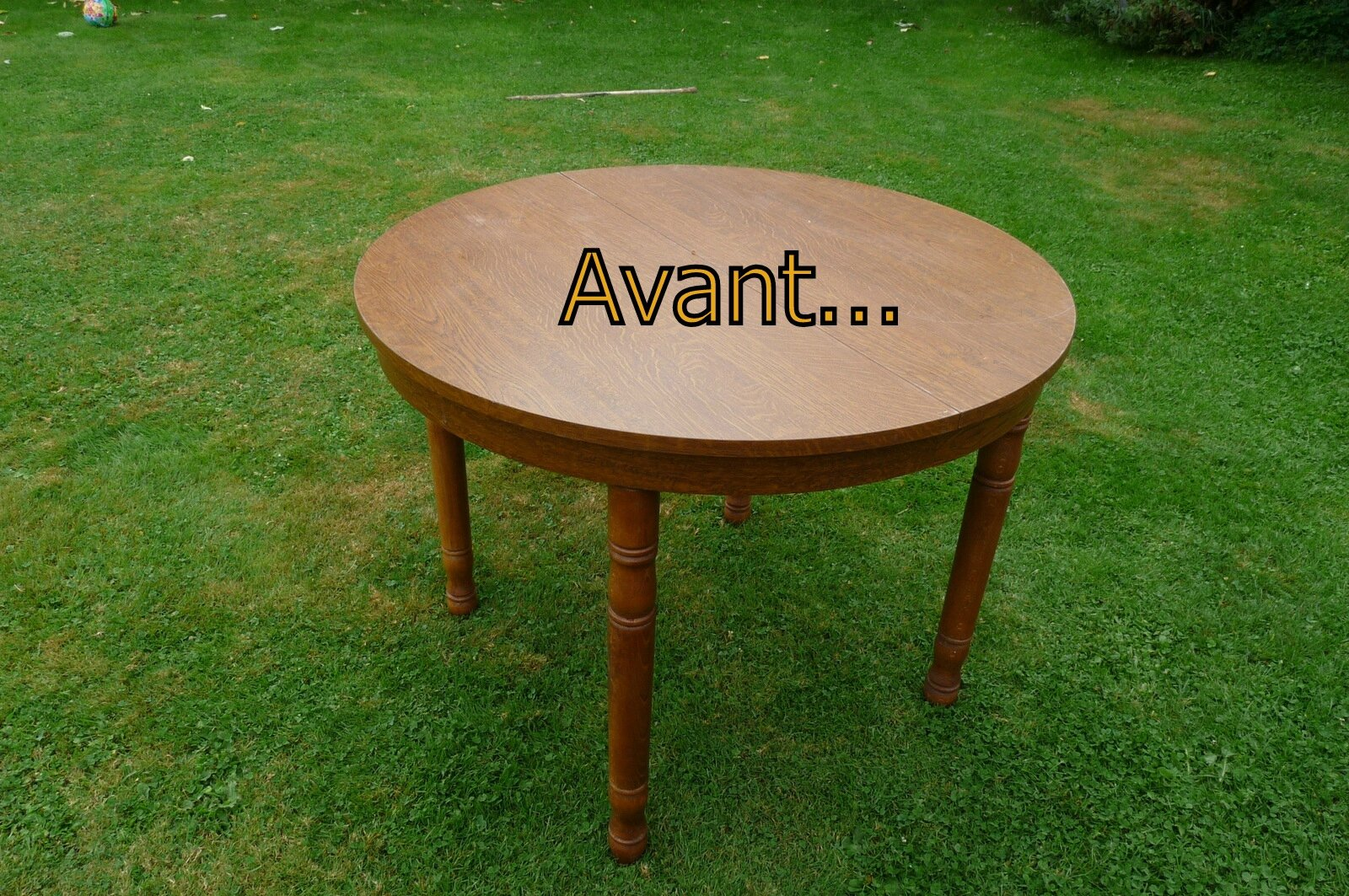 Customiser une vieille table basse en bois - Customiser une table en bois ...