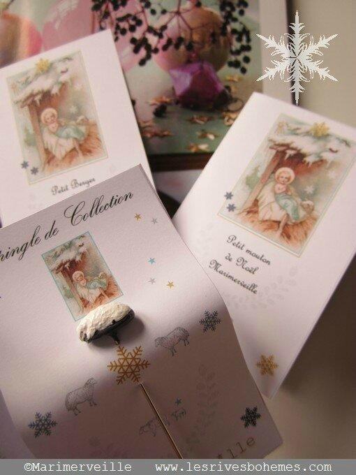 épingles de collection marimerveille - petit mouton de Noël 2013