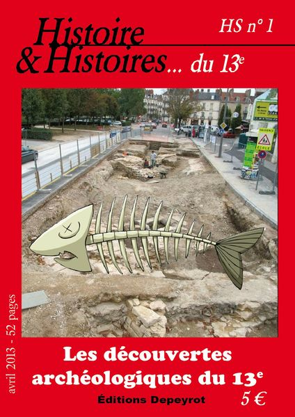 decouverte archeologique 13e