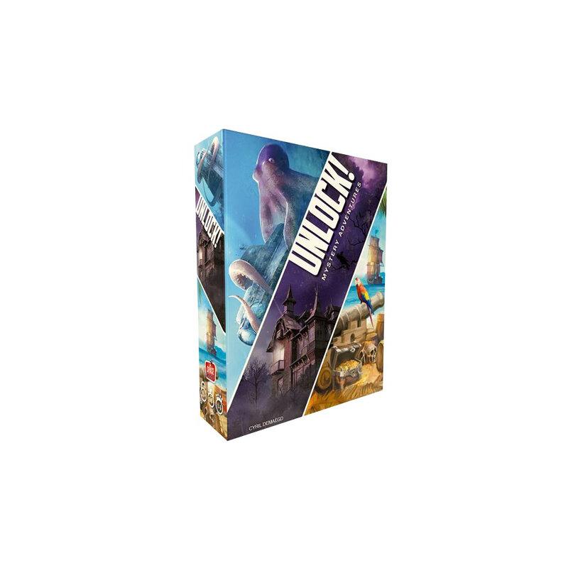 Boutique jeux de société - Pontivy - morbihan - ludis factory - Unlock mystery adventures
